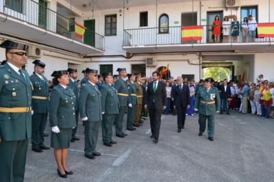 La Guardia Civil celebra a su patrona en Talavera con la mirada puesta en Cataluña