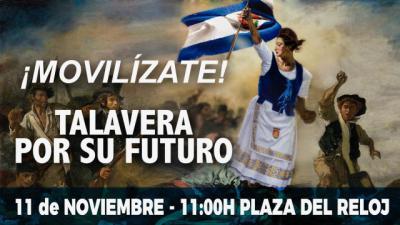Ya se conoce el recorrido de la manifestación del 11-N en Talavera