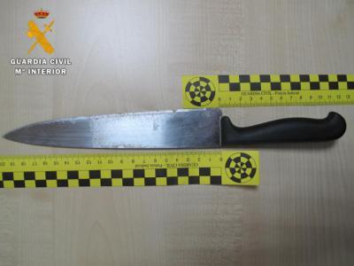 Detenido un joven de 18 años por robar a una mujer a la que amenazó con un cuchillo