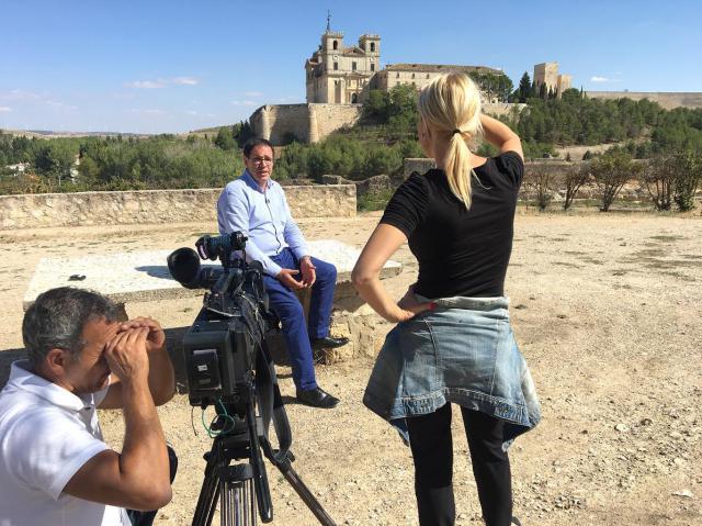 El canal América Tevé promocionará la provincia de Cuenca en Estados Unidos
