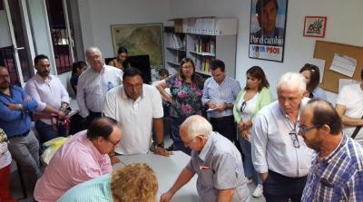 Los socialistas talaveranos dan su apoyo mayoritario a García-Page