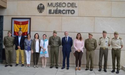 El Ayuntamiento de Talavera y el Museo del Ejercito estudian realizarexposiciones con cerámica