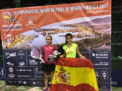 La torrijeña Noemí Aguilar se proclama campeona del mundo en pádel (d)