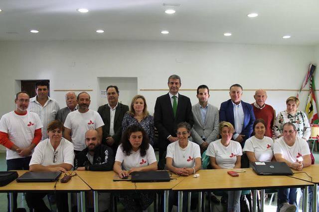 La Diputación de Toledo apuesta por los talleres de empleo en su visita al Real de San Vicente
