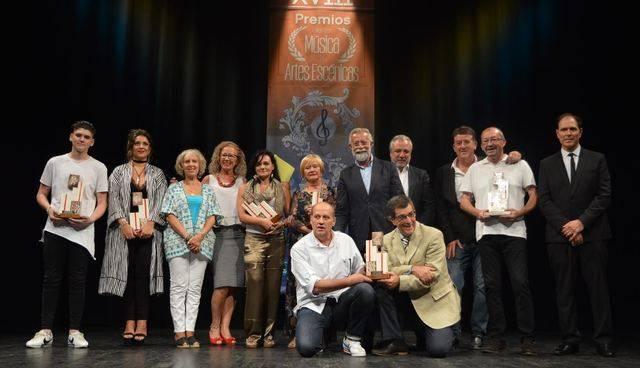 El Teatro Victoria acogió la entrega de los Premios de la Música y las Artes Escénicas de Talavera