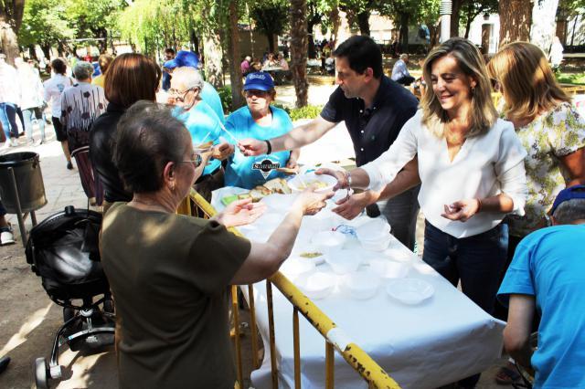 La II Feria de la Cebolla del Campo de Calatrava recibe más de 5.000 visitas