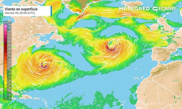 EL TIEMPO FIN DE SEMANA   Llega Justine: una nueva borrasca con lluvias y viento
