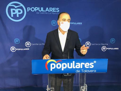 """Gregorio: """"Lo único que trae Page a Talavera son mensajes publicitarios"""""""
