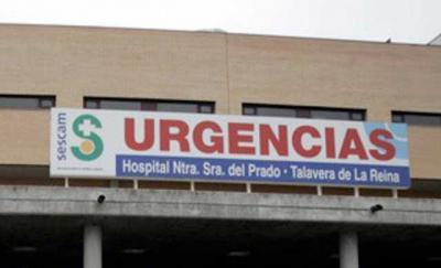 Herido muy grave un hombre en Talavera tras caer de una altura de cuatro metros mientras limpiaba cristales