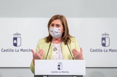 Rosa Ana Rodríguez, en rueda de prensa - JCCM