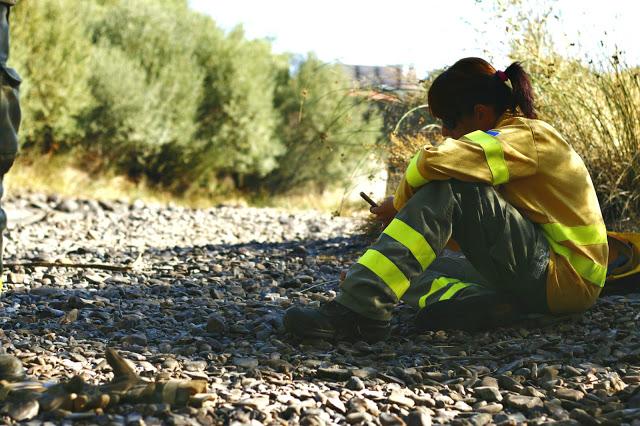 ESENCIALES | Descubre a Vanesa, bombera forestal de la brigada de Sevilleja de la Jara
