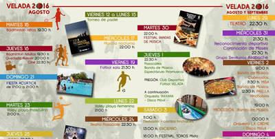 Comienza la 'Quincena Cultural 2016' de Velada