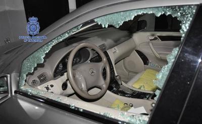 Detenido un ladrón reincidente por robar en ocho coches