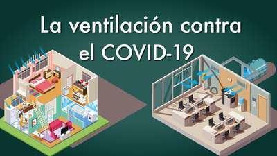 COVID-19 | Alertan del enorme riesgo de contagio en estancias mal ventiladas
