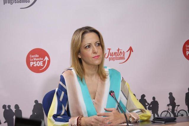 Cristina Maestre, vicepresidenta y portavoz del PSOE de CLM.