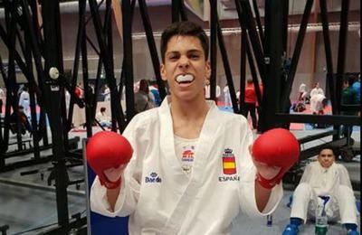 El talaverano Víctor Cuerva, medalla de bronce en el Europeo