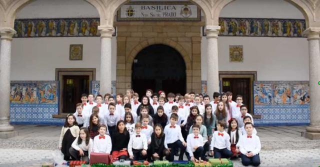 VÍDEO | 'Nacerá', el villancico del Colegio Marista de Talavera