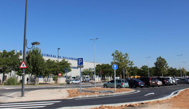 Mejora de los accesos y el entorno del Hospital General de Villarrobledo