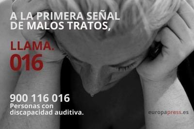 731 mujeres de CLM utilizaron en 2018 el servicio de atención a víctimas de violencia de género
