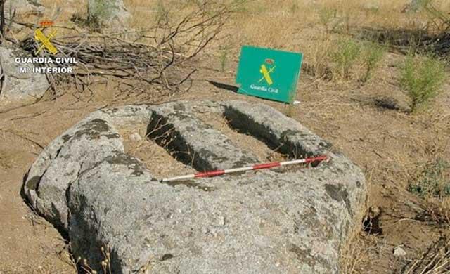 Descubren un conjunto fúnebre de época visigoda en la provincia de Toledo