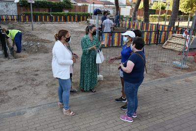 Comienzan las remodelaciones del parque infantil de El Potrero