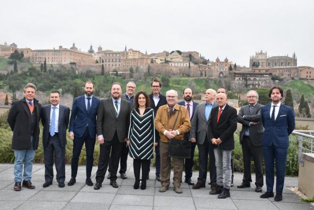 CLM acoge la reunión del Consejo Rector de la Confederación de Cooperativas de Vivienda y Rehabilitación de España