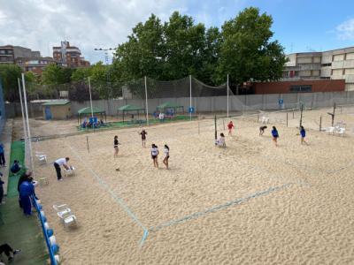 Talavera se convierte acoge el Campeonato Provincial de voley playa