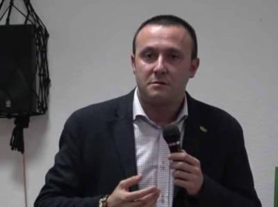 Luis Miguel Núñez Gil, presidente provincial de Vox Toledo