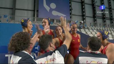 La Selección femenina de waterpolo pasa a la gran final