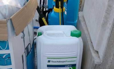 XTalavera denuncia el uso de herbicidas prohibidos en la ciudad