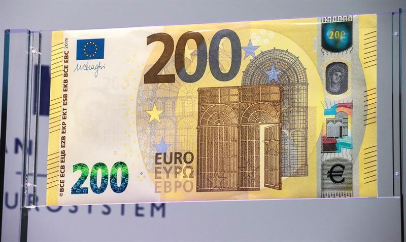 estos son los nuevos billetes de 100 y 200 euros la voz del tajo. Black Bedroom Furniture Sets. Home Design Ideas